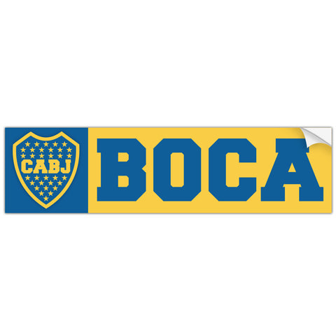 Boca Juniors Argentina Bumper Sticker Decal Calcomania - Pandemic Soccer