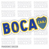 Boca Juniors Argentina Vinyl Sticker Decal Calcomania