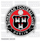 Bohemian FC Dublin Ireland Vinyl Sticker Decal - Pandemic Soccer