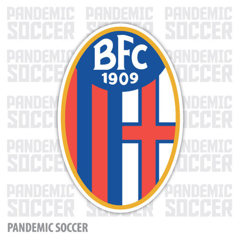 Bologna Calcio Italy Vinyl Sticker Decal - Pandemic Soccer