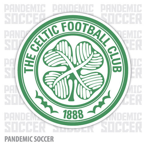 Celtic FC Glasgow Scotland Vinyl Sticker Decal - Pandemic Soccer