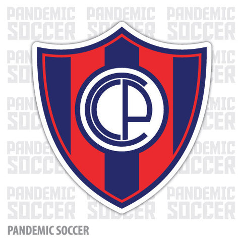 Cerro Porteño Asuncion Paraguay Vinyl Sticker Decal Calcomania - Pandemic Soccer