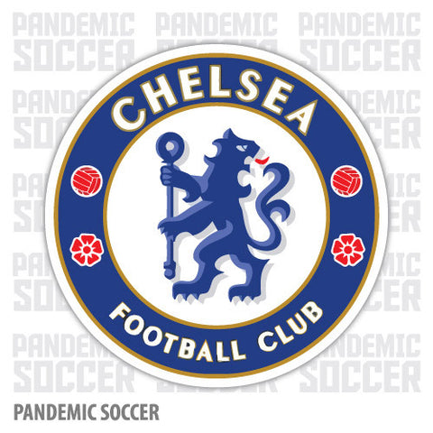 Chelsea FC Blues England Color Vinyl Sticker Decal - Pandemic Soccer