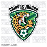 Jaguares Chiapas Mexico Vinyl Sticker Decal Calcomania - Pandemic Soccer