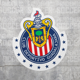 Chivas Rayadas Campeon Mexico Vinyl Sticker Decal Calcomania - Pandemic Soccer