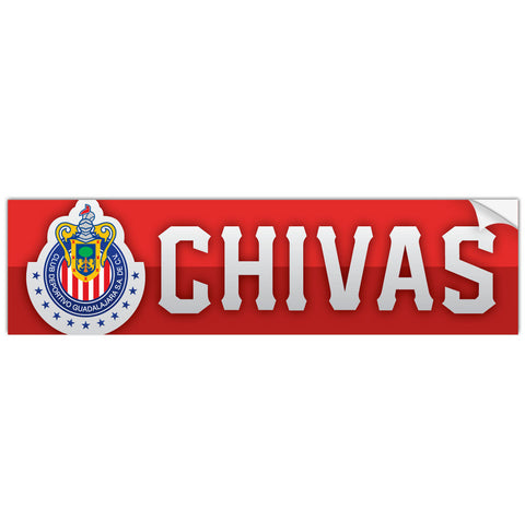 Chivas Guadalajara Mexico Bumper Sticker Decal Calcomonia - Pandemic Soccer