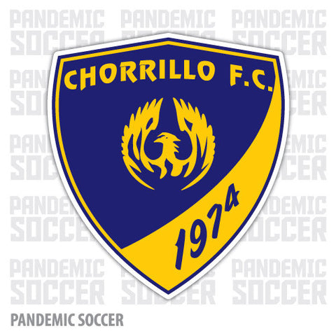 Chorrillo FC Panama Vinyl Sticker Decal Calcomania - Pandemic Soccer