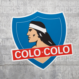 Colo Colo Albo Chile Vinyl Sticker Decal Calcomania - Pandemic Soccer