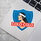 Colo Colo Albo Chile Vinyl Sticker Decal Pack - 10 Stickers - Pandemic Soccer
