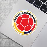Seleccion Colombia Futbol Cafeteros Vinyl Sticker Decal - Pandemic Soccer