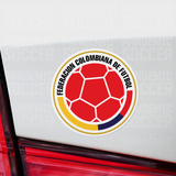 Seleccion Colombia Vinyl Sticker Decal Pack - 10 Stickers - Pandemic Soccer
