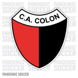 Colon Santa Fe Argentina Vinyl Sticker Decal Calcomania - Pandemic Soccer