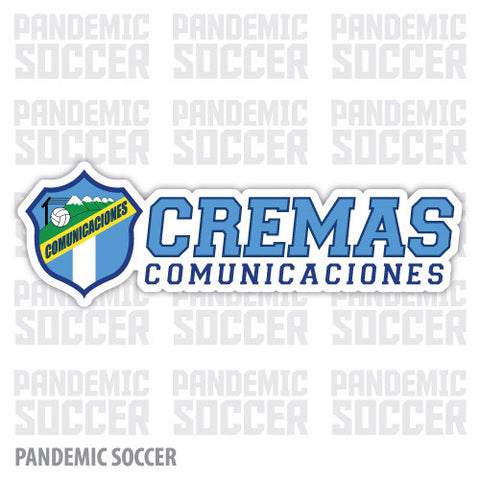 Comunicaciones Guatemala Vinyl Sticker Decal Calcomania - Pandemic Soccer