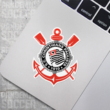 Corinthians Brazil Vinyl Sticker Decal Adesivo Pack - 10 Stickers - Pandemic Soccer