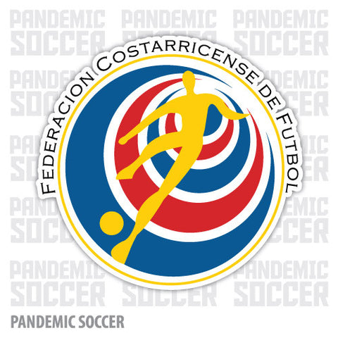 Seleccion Costa Rica Futbol Ticos Vinyl Sticker Decal