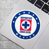 Cruz Azul Mexico Vinyl Sticker Decal Pack - 10 Stickers - Pandemic Soccer