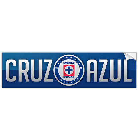 Cruz Azul Mexico Bumper Sticker Decal Calcomonia - Pandemic Soccer