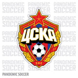 CSKA Moscow Russia Vinyl Sticker Decal - Pandemic Soccer