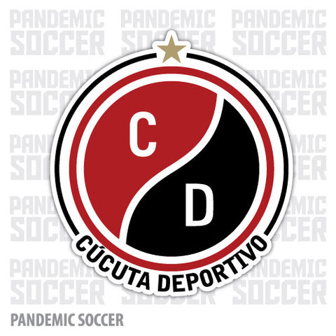 Cucuta Deportivo Colombia Vinyl Sticker Decal Calcomania - Pandemic Soccer
