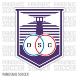 Defensor Sporting Club Uruguay Vinyl Sticker Decal Calcomania - Pandemic Soccer