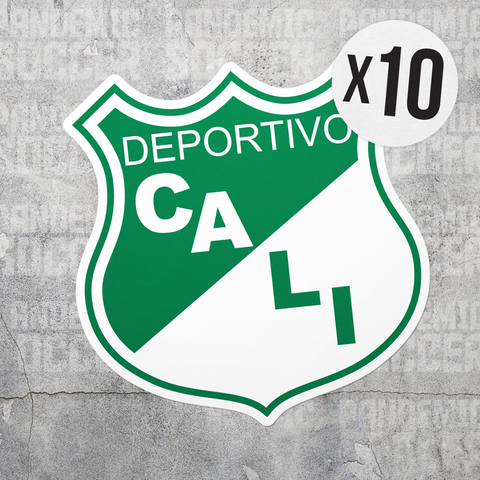 Deportivo Cali Colombia Vinyl Sticker Decal Pack - 10 Stickers - Pandemic Soccer
