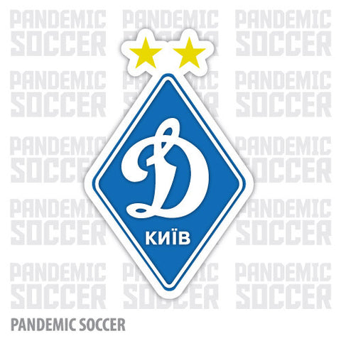 Dinamo Kiev Ukraine Vinyl Sticker Decal - Pandemic Soccer