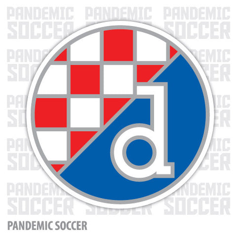 Dinamo Zagreb Croatia Color Vinyl Sticker Decal - Pandemic Soccer