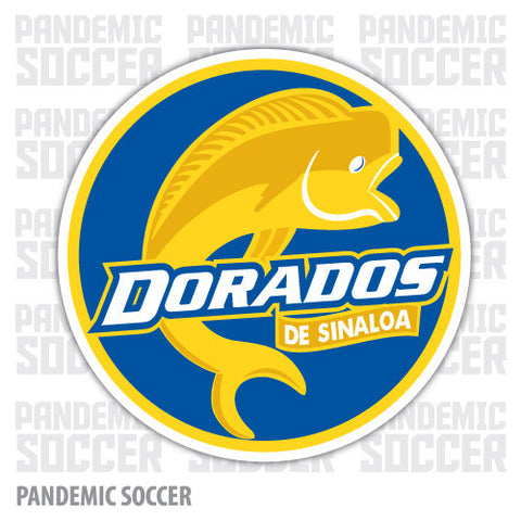 Dorados Sinaloa Mexico Vinyl Sticker Decal Calcomania - Pandemic Soccer