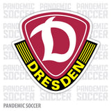 Dynamo Dresden Germany Vinyl Sticker Decal - Pandemic Soccer