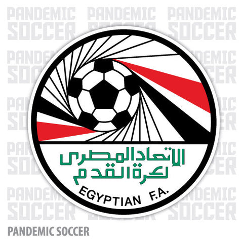 Egypt National Soccer Team Vinyl Sticker Decal - Pandemic Soccer