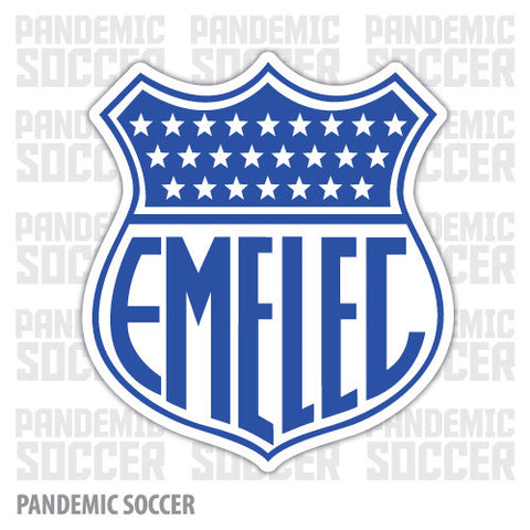 Sport Emelec Guayaquil Ecuador Vinyl Sticker Decal Calcomania - Pandemic Soccer