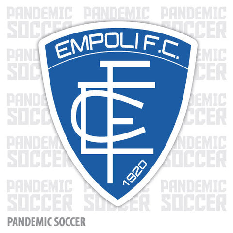 Empoli FC Calcio Italy Color Vinyl Sticker Decal - Pandemic Soccer
