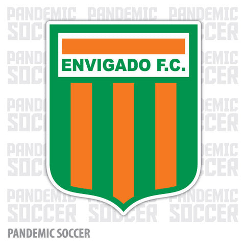 Envigado FC Colombia Vinyl Sticker Decal Calcomania - Pandemic Soccer
