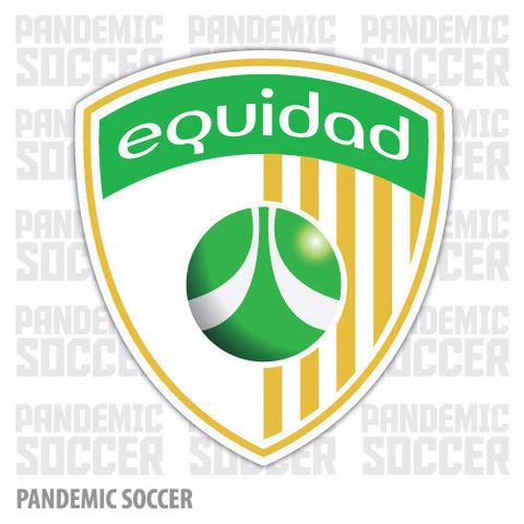 Deportivo Equidad Bogota Colombia Vinyl Sticker Decal Calcomania - Pandemic Soccer