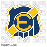 Everton Viña del Mar Chile Vinyl Sticker Decal Calcomania - Pandemic Soccer
