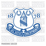 Everton FC England Vinyl Sticker Decal - Pandemic Soccer