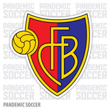 FC Basel Switzerland Vinyl Sticker Decal - Pandemic Soccer