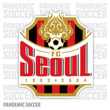 FC Seoul South Korea Vinyl Sticker Decal Soccer - Pandemic Soccer