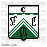 Club Ferro Carril Oeste Argentina Vinyl Sticker Decal Calcomania - Pandemic Soccer