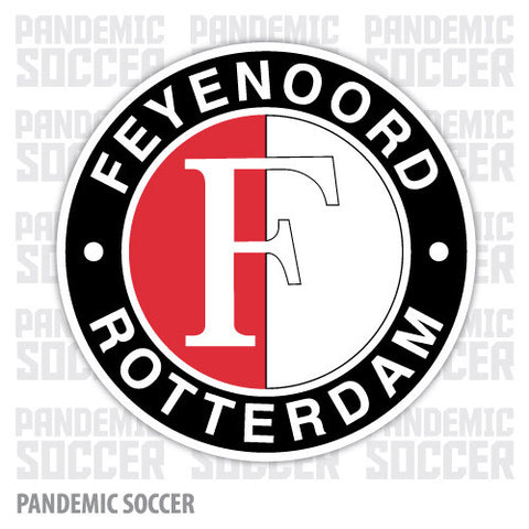 Feyenoord Rotterdam Netherlands Vinyl Sticker Decal - Pandemic Soccer