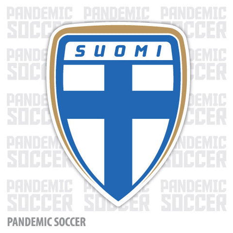 Finland National Soccer Team Vinyl Sticker Decal - Pandemic Soccer