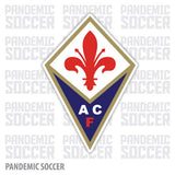 Fiorentina Italy Vinyl Sticker Decal - Pandemic Soccer