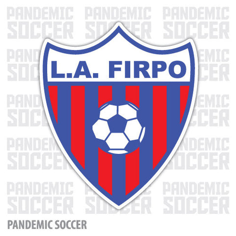 CD Luis Angel Firpo El Salvador Vinyl Sticker Decal Calcomania - Pandemic Soccer