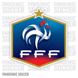 France National Soccer Team Les Bleus Vinyl Sticker Decal - Pandemic Soccer