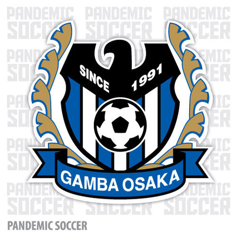 Gamba Osaka Japan Vinyl Sticker Decal - Pandemic Soccer