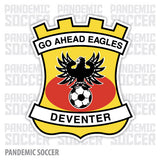 Go Ahead Eagles Netherlands Color Vinyl Sticker Decal - Pandemic Soccer