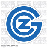 Grasshopper Club Zurich Switzerland GCZ Vinyl Sticker Decal - Pandemic Soccer