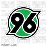 Hannover 96 Germany Vinyl Sticker Decal - Pandemic Soccer