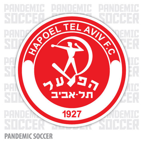 Hapoel Tel Aviv Israel Vinyl Sticker Decal - Pandemic Soccer