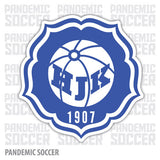 HJK Helsinki Finland Color Vinyl Sticker Decal - Pandemic Soccer